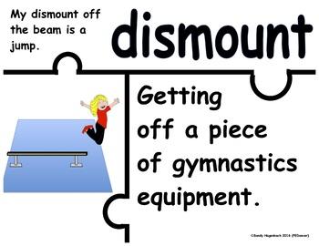 Puzzle Academic Language Gymnastics