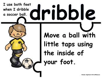 Puzzle Academic Language Soccer