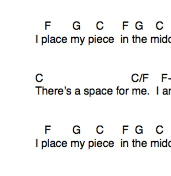 Puzzle: An Activity Song About Self Esteem and Fitting In