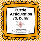 Puzzle Articulation /P, B, M/