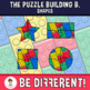 Puzzle Building Bricks Shapes Clipart