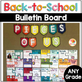 Back to School Bulletin Board Puzzle for Community Building