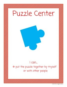 Puzzle Library Centers