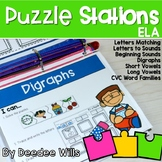 Puzzle Centers and Stations