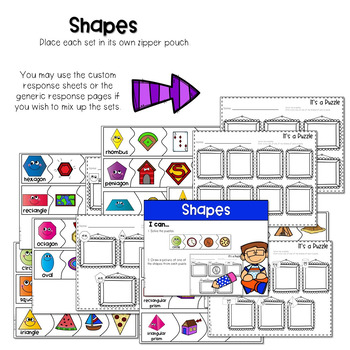 Puzzle Centers and Stations MATH