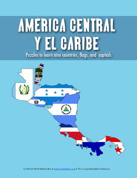 Puzzle: Central America and the Caribbean Wordoku Puzzle Pack