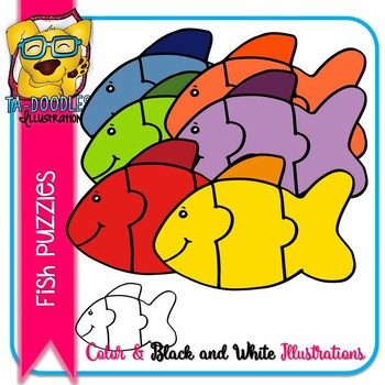 Puzzle Clipart :  Fish Puzzle Commercial Use