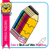 Puzzle Clipart :  Pencil Puzzles Commercial Use