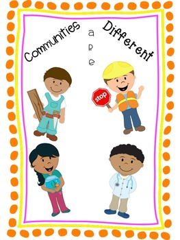 Crossword Puzzle - Communities Are Different