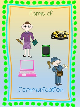 Crossword Puzzle - Communities - Forms of Communication
