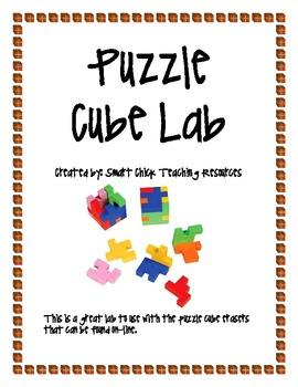 Puzzle Cube Eraser Lab