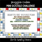 Puzzle Cube Mini Google Challenge - Great for Distance Learning!