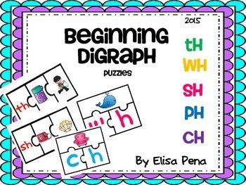 Digraph Puzzle Activity