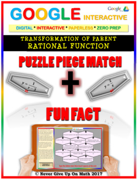 Puzzle & Fun Fact:Transformation of Rational Function(Google Interactive & Copy)