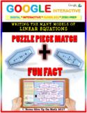 Fun Fact: Writing Linear Equation {All Models}(Google Interactive &Copy)