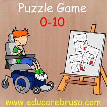 Puzzle Game 0-10 for Preschoolers