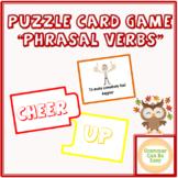 Puzzle Game English Phrasal Verbs ELA/EFL/ESL English Vocabulary Group Activity