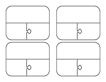 puzzle game template 3 pieces by created by katie tpt