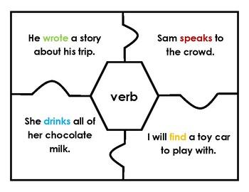 Puzzle: Grammar Parts of Speech