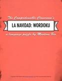 Puzzle: La Navidad Wordoku - Christmas vocabulary in Spanish