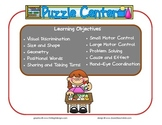 Puzzle Learning Center Sign~ With Objectives