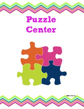 Puzzle Library Center - US Version