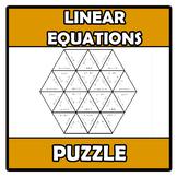 Puzzle - Linear equations - Ecuaciones lineales (TARSIA)