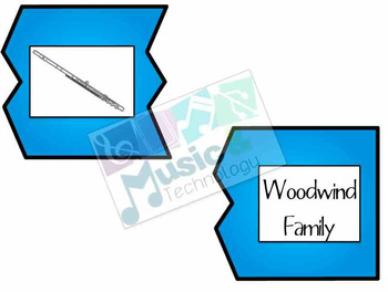 Puzzle Mania!- Orchestra Instrument Families