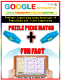 Puzzle & Fun Fact: Evaluate Logarithms (Google Interactive & Hard Copy)