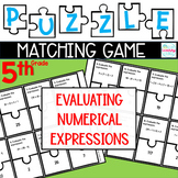 Puzzle Matching Game Evaluating Numerical Expressions