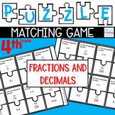 Puzzle Matching Game Fractions and Decimals