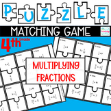 Puzzle Matching Game Multiplying Fractions