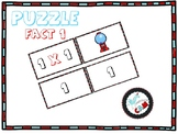 Puzzle Multiplication Fact 1