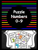 Puzzle Numbers  (Numbers 1 - 9 Included)