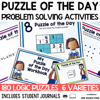 Puzzle Of The Day (180 Puzzles To Share)