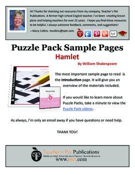 Puzzle Pack Sampler Hamlet