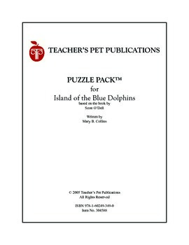 Puzzle Pack Sampler Island of the Blue Dolphins