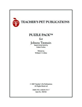 Puzzle Pack Sampler Johnny Tremain