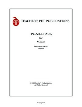 Puzzle Pack Sampler Medea