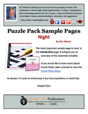 Puzzle Pack Sampler Night