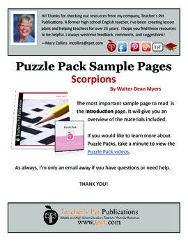 Puzzle Pack Sampler Scorpions