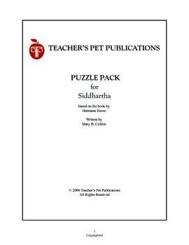 Puzzle Pack Sampler Siddhartha
