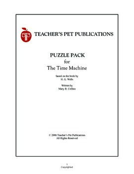 Puzzle Pack Sampler The Time Machine