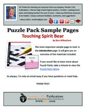 Puzzle Pack Sampler Touching Spirit Bear