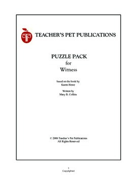Puzzle Pack Sampler Witness