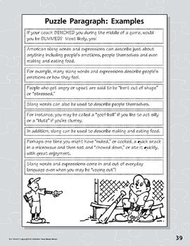 Puzzle Paragraphs