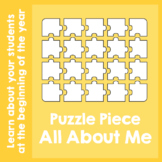 Puzzle Piece All About Me