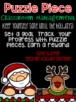 Puzzle Piece Classroom Management  *Holiday Edition*