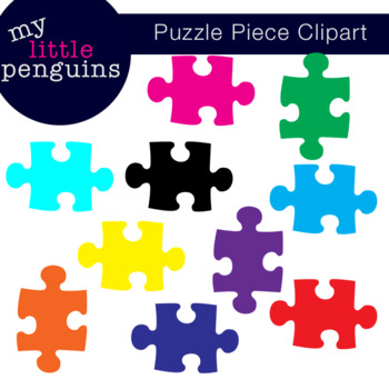 Puzzle Piece Clipart (clip art png format) Autism Awareness