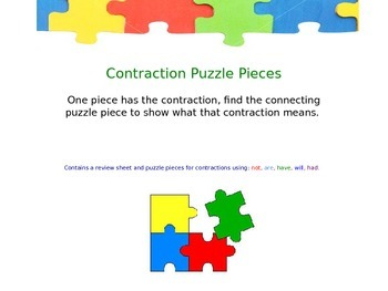 Puzzle Piece Contractions